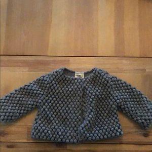 Toddler wool coat